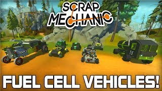 Fuel Cell Vehicle Viewer Creations! (Scrap Mechanic #218)