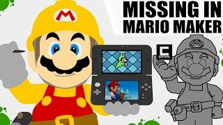 One Thing of each 2D Mario Game that would be Awesome in Super Mario Maker!