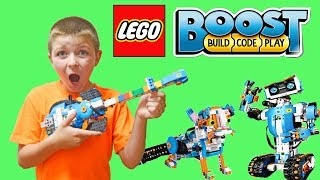 Lego Boost Coding Guitar 4000 Fun Kids STEM video Educational learning for kids