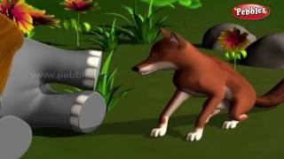The Clever Jackal | हिंदी कहानी | 3D Moral Stories For Kids in Hindi | Moral Values Stories in Hindi