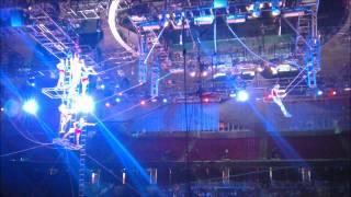 Houston, we have a trapeze problem.
