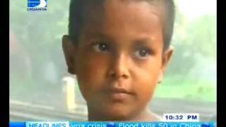 রেলস্টেশনের ছিন্নমূল শিশুকে নিয়ে হৃদয়স্পর্শী টিভি রিপোর্ট | Amirul Momenin Manik