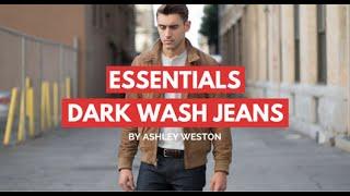Dark Wash Jeans/Denim   Men s Wardrobe Essentials   indigo, blue