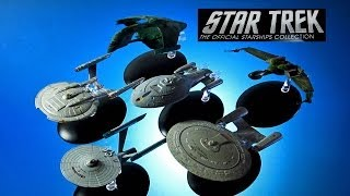 Star Trek Official Starships Collection #1-6 USS Enterprise NCC 1701
