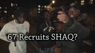 Michael Dapaah/Roadman SHAQ Freestyles on 67's Block