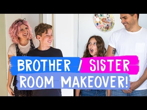 Xxx Mp4 Surprise Brother And Sister Room Makeovers Mr Kate Decorates 3gp Sex