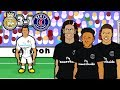Download Video 💔MCN - BAD BROMANCE!💔 3-1 Real Madrid vs PSG (Champions League 2018 Goals Highlights Parody) 3GP MP4 FLV