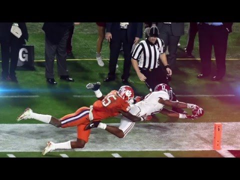 2016 National Championship Full Highlights Alabama vs. Clemson
