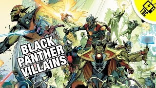 6 Black Panther Villains Perfect for the Sequel! (The Dan Cave w/ Dan Casey)