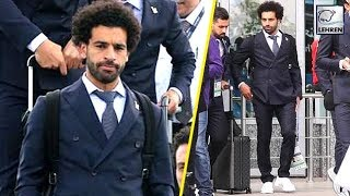 Mohamed Salah Arrives In Russia Ahead Of The World Cup