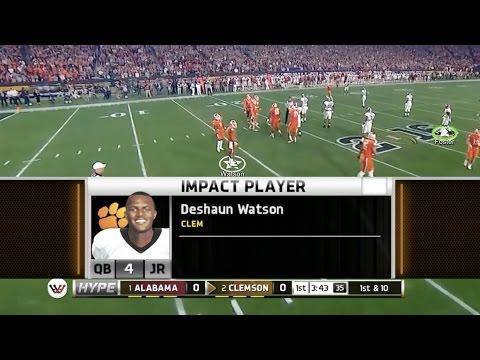 REAL LIFE NCAA Football National Championship Simulation Alabama Clemson NCAA 14 PS3 XBOX 360
