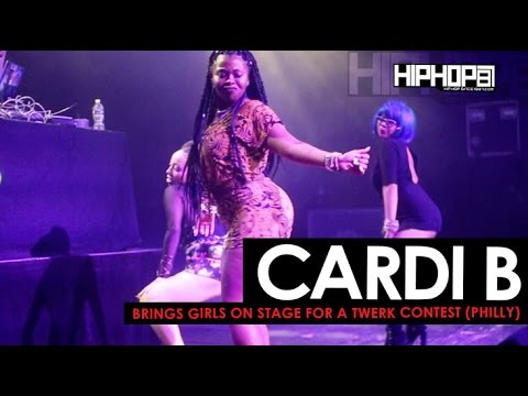 Xxx Mp4 Cardi B Brings Girls On Stage For A Twerk Contest In Philly HHS1987 Exclusive 3gp Sex