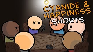 Roulette - Cyanide & Happiness Shorts