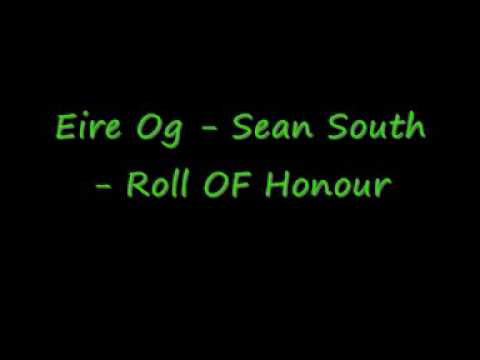 Eire Og Sean South Roll OF Honour