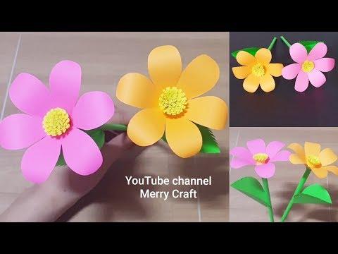 Xxx Mp4 Easy Paper Flowers Handmade Craft Room Decoration Ldeas 3gp Sex