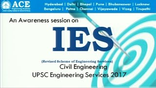 Revised Pattern for Civil Engineering (ESE) IES 2017 Exclusive