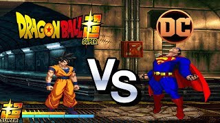 MUGEN 1.1 - Son Goku Vs Superman [ Requested Match ]