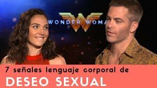 7 señales de lenguaje corporal de Deseo Sexual de Gal Gadot