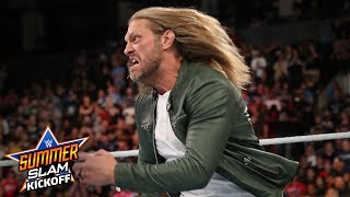 Edge returns and spears Elias: SummerSlam Kickoff 2019 (WWE Network Exclusive)