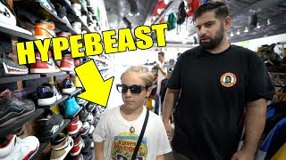SHOPPING WITH THE WORLDS YOUNGEST HYPEBEAST!! *WHAT DID HE BUY*