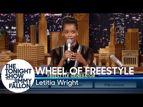 Xxx Mp4 Wheel Of Freestyle With Black Panther S Letitia Wright 3gp Sex