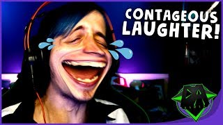 NOT LAUGHED THIS HARD IN A LONG TIME! | TRY NOT TO LAUGH (CONTAGEOUS LAUGHTER) | DAGames