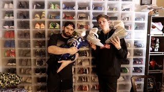 HOLLYWOOD 15 YEAR OLD $1,000,000 SNEAKER COLLECTION