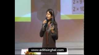 Aditi Singhal - Guinness World Record in Maths: Part2