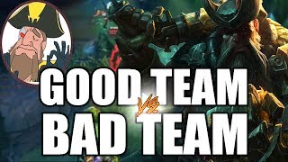 Tobias Fate - Having A Bad Team VS Having A Good Team | League of Legends