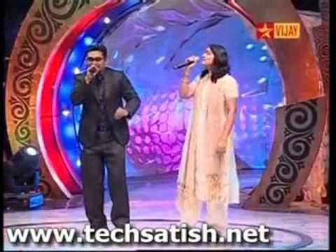 Airtel Super Singer Ravi Finals with Singer Harini Ayyangaru Veetu Azhage