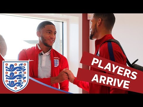 Xxx Mp4 England Players Arrive At Camp Ahead Of Brazil And Germany Matches Inside Access 3gp Sex