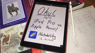iPad Pro ve Apple Pencil - Okul için Tek Cihaz