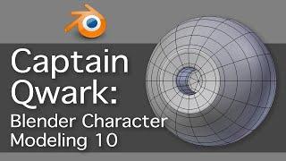 Captain Qwark: Blender Character Modeling 10 of 22