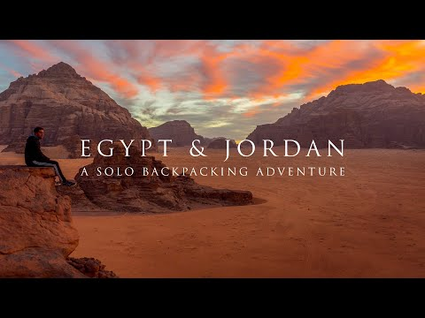 Xxx Mp4 EGYPT Amp JORDAN A Solo Backpacking Adventure Trailer 3gp Sex