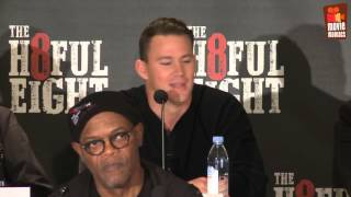 The Hateful 8 | full press conference New York (2016) Quentin Tarantino