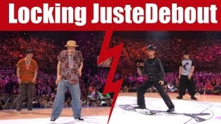 Locking dance Battle Yuma & Nobby (Japan) vs Markus & Alex-A-Train (Sweden)