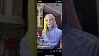 Jeffree Star Instagram Livestream 7/10/19
