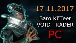 Warframe - Baro Ki'Teer (PC) - Primed Fever Strike  & Primed Regen
