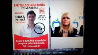 UN COMISAR ACUZA! Candidatul PSR la senat, Dima Petrica, la Radio Buc. FM, cu Udrea Elena