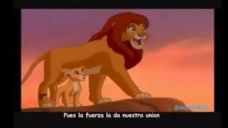 El Rey León 2-Nuestra Union(Letra)-Español Latino