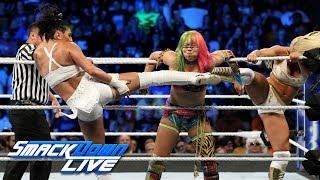 Asuka & Naomi vs. Mandy Rose & Sonya Deville: SmackDown LIVE, Sept. 25, 2018