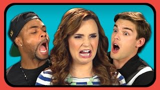 YOUTUBERS REACT TO CRINGE COMPILATION