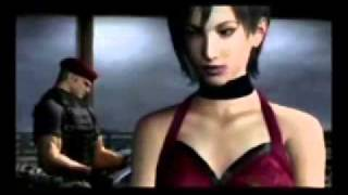 Resident Evil-Ada Is A Cannibal