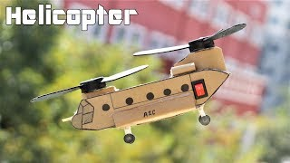 How to make a Military Helicopter - Electric CH47 Helicopter