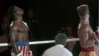 Rocky IV Apollo's fight