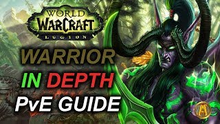 7.3.5 FURY WARRIOR PVE GUIDE [Antorus Tier 21 Commentary]
