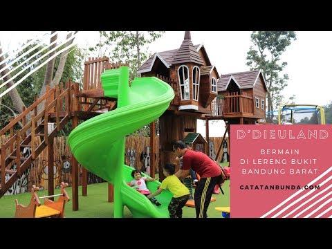Review D'Dieuland Bandung - Tempat Wisata Keluarga dan Permainan Anak