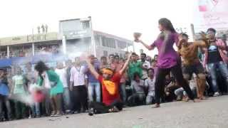 ICC World T20 Bangladesh 2014 - Flash Mob, Northern University Bangladesh (Khulna Campus)