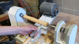 Homemade Lathe Pt. 3 - painting and finishing