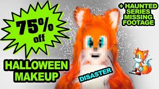 DISCOUNT HALLOWEEN MAKEUP CHALLENGE and Haunted Series Extra Storytime!